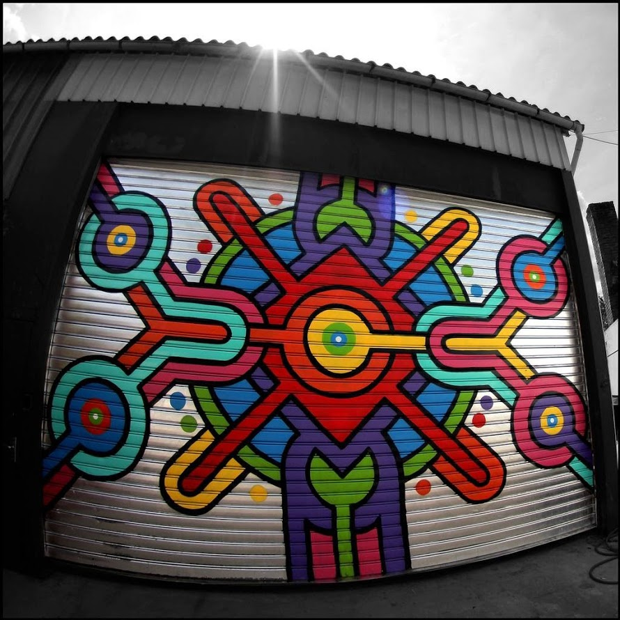 Emmaus-aerosol-painting-on-steel-wall-2013